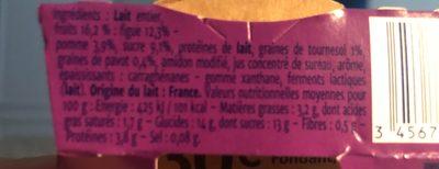 Gourmand yaourts - Ingrediënten