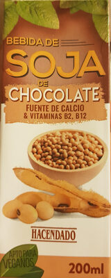 bebida de soja chocolate - Producto