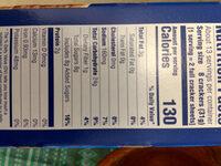 Honey Maid - Informations nutritionnelles - en