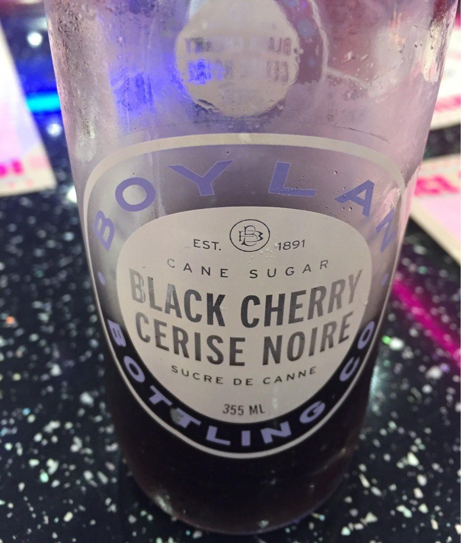 Cane Sugar Soda, Black Cherry - Product