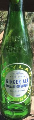 Ginger Ale Soda Au Gingembre - Product - en