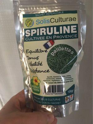 Spiruline. Paillettes - Produit - fr