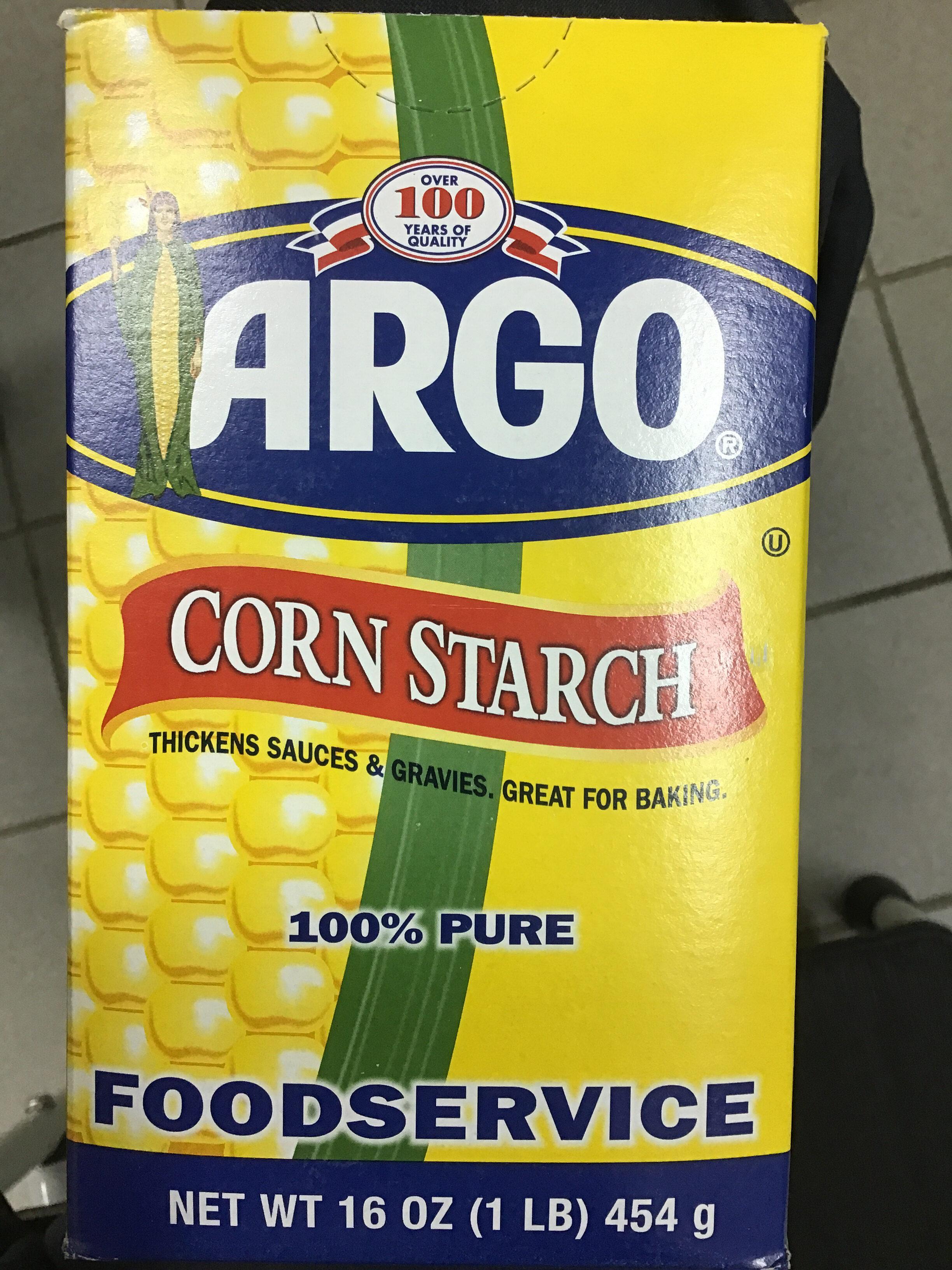 100% Pure Corn Starch - Product - en