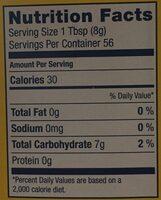100% Pure Corn Starch - Nutrition facts - en