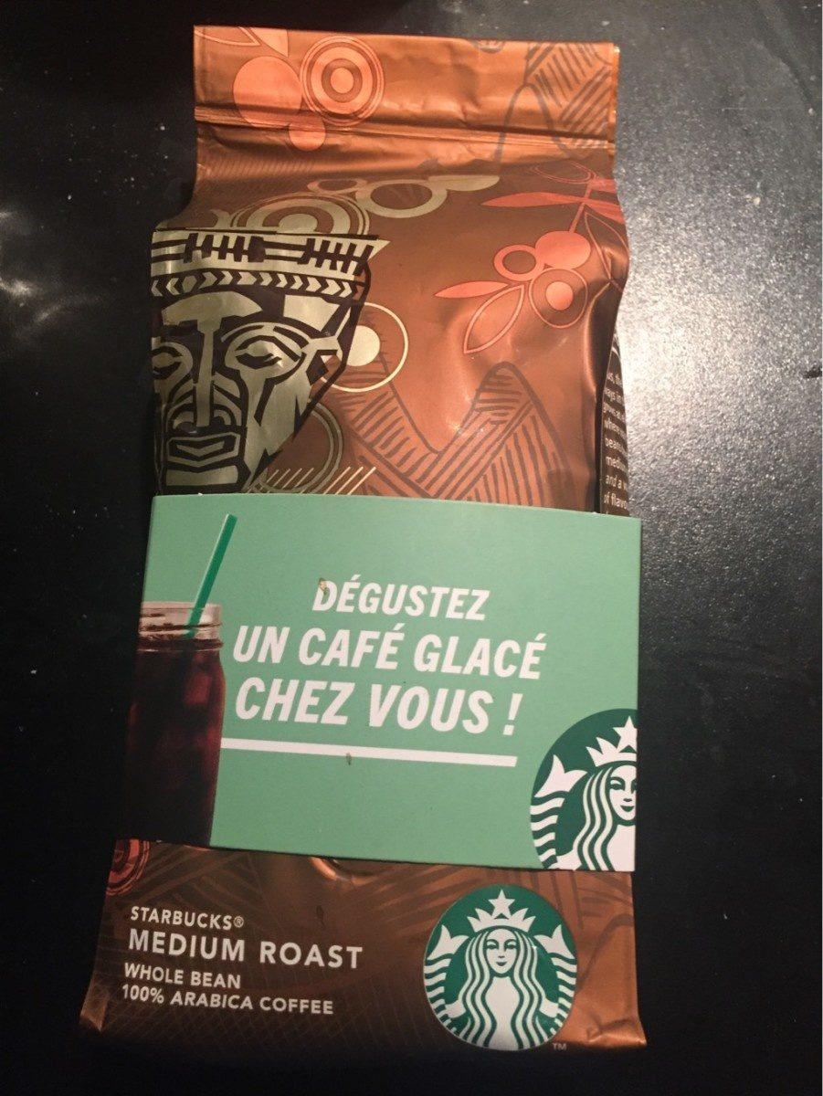 Starbucks Columbia Nariño Whole Bean Coffee - Producto