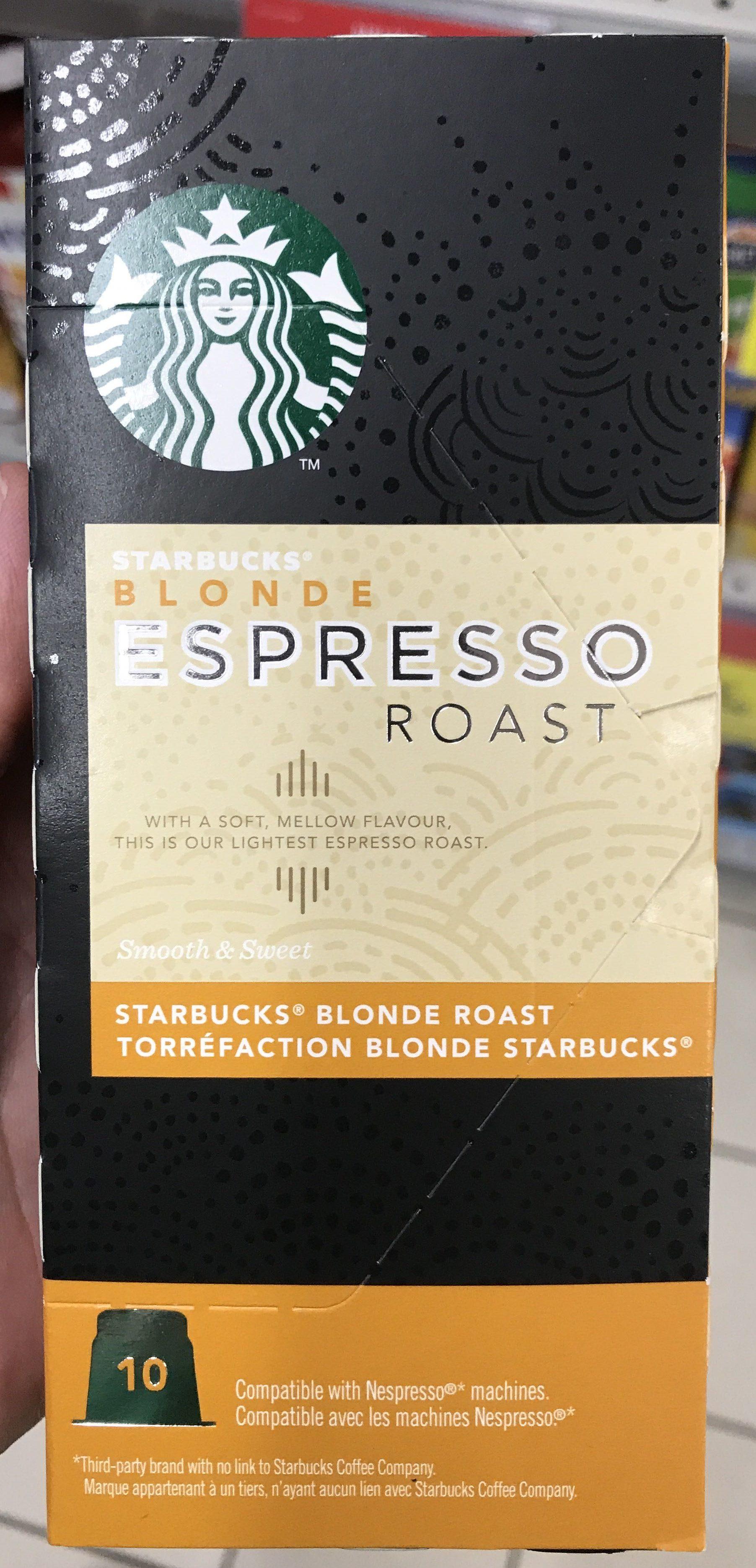 Blonde Espresso Roast Starbucks 55 G