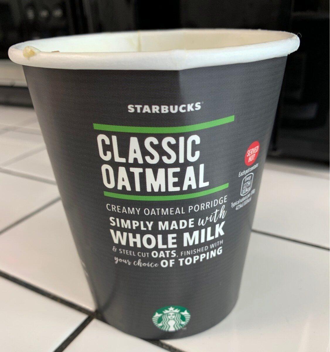 Classic Oatmeal - Product