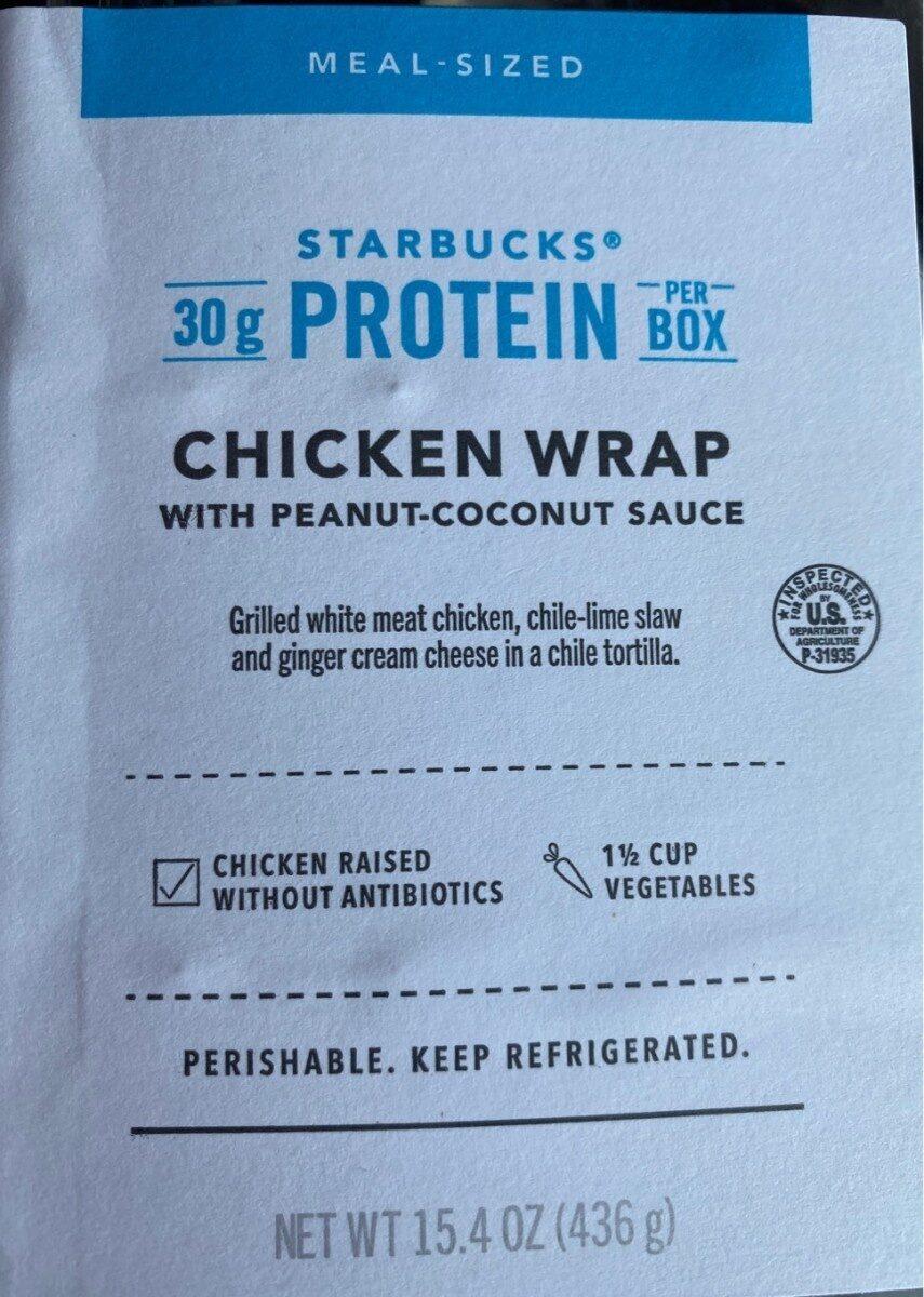 Chicken wrap - Product - en