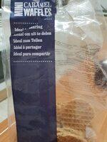 Mini caramel waffles - Product - en