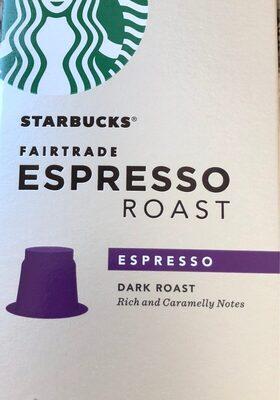 Fairtrade espresso roast intensity 10