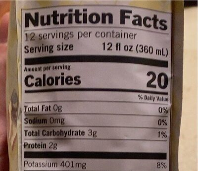 Coffe medium roast with golden turmeric - Nutrition facts - en
