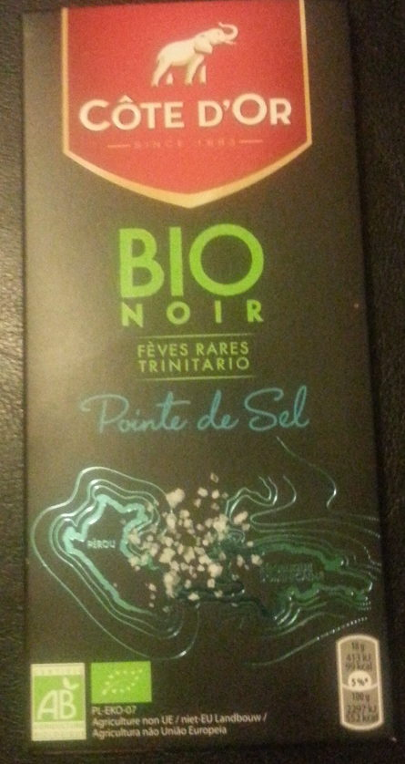 Bio noir pointe de sel - Product