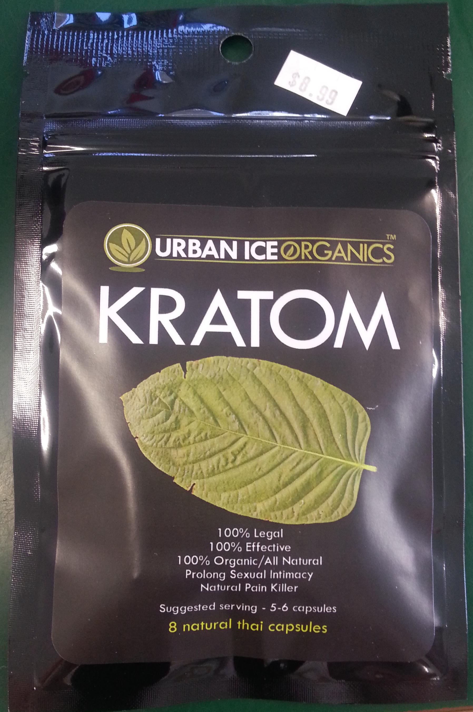 Urban Ice Organics Natural Thai