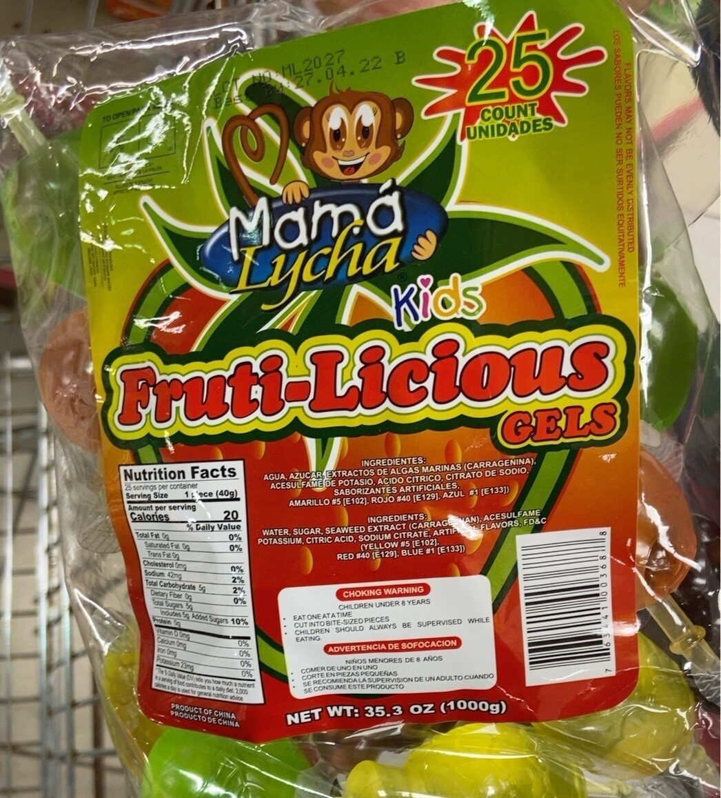 Fruiti-Licious - Product - fr