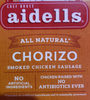 Chef Bruce Aidells All-Natural Chorizo Smoked Chicken Sausage - Product