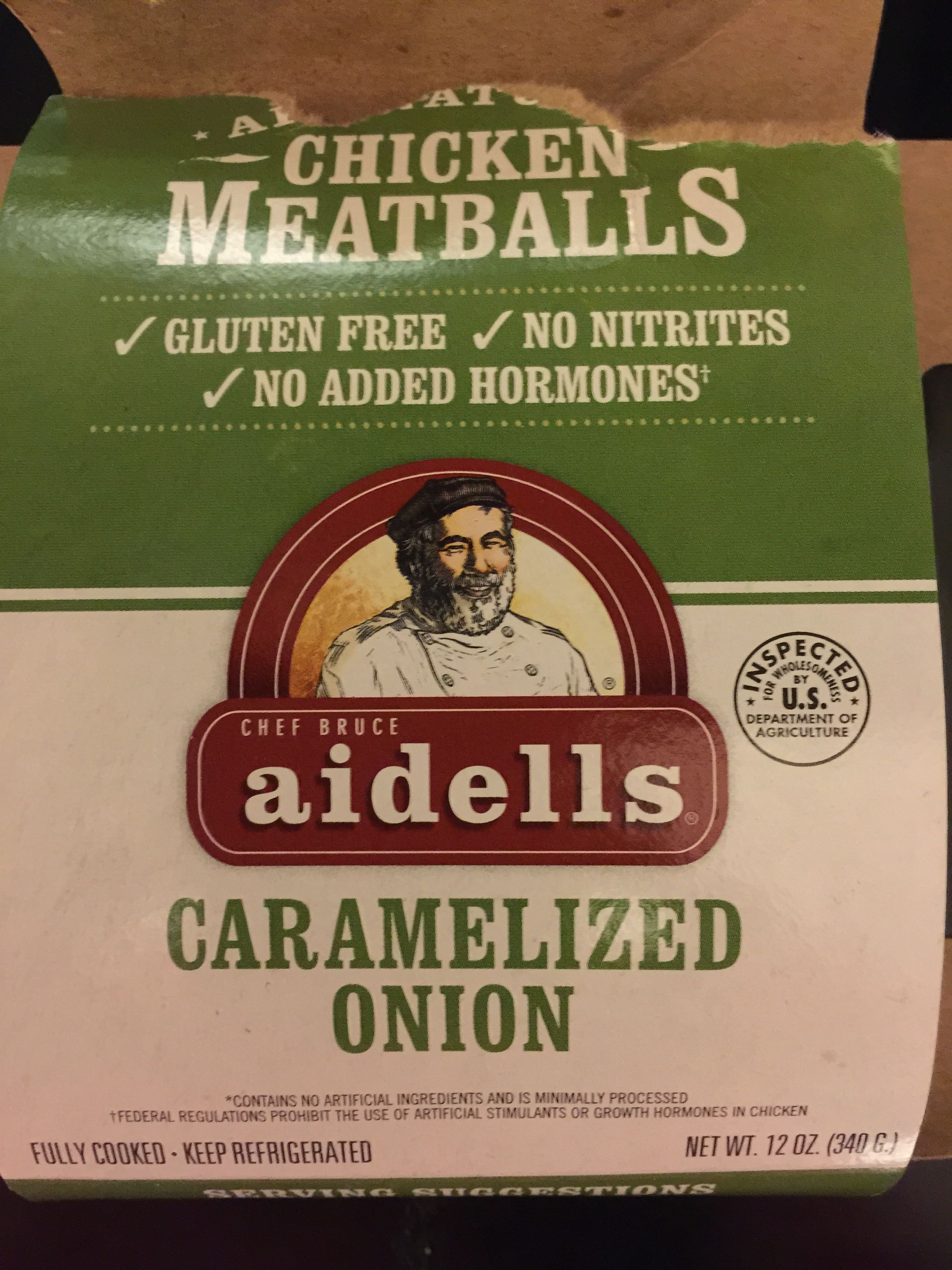 Caramelized Onion Chicken Meatballs - Product
