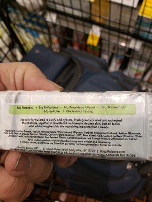 Shea Moisture Bar Soap - Ingredients - en