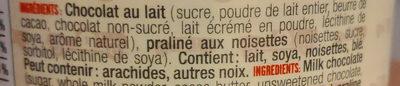 Fondant noisette - Ingrédients - fr