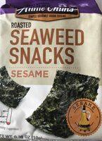 Roasted Seaweed Snacks - Nutrition facts - en