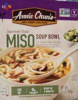 Japanese-style miso soup bowl, mild - Product - en