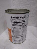 Sliced Carrots - Nutrition facts - en