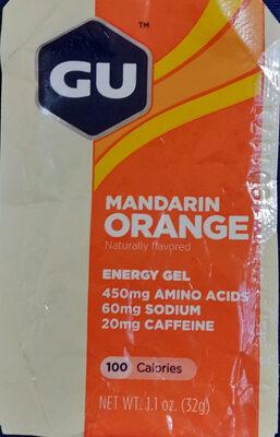 Mandarin orange energy gel - Product - en