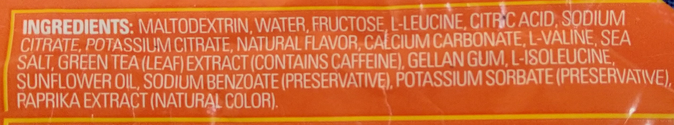 Mandarin orange energy gel - Ingredients - en