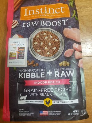 Raw Boost Indoor chicken for cats - מוצר