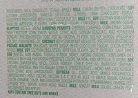 Whitman's Sampler Asst. CHOCOLATES 12OZ - Ingredients - en