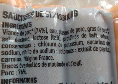 knack - Ingredients - fr