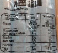 knack - Nutrition facts - fr