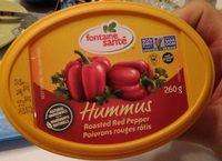 Hummus (poivron Rouge) - Product - fr