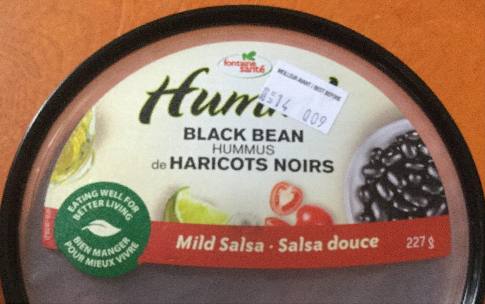 Hummus de haricots noirs - Product - fr