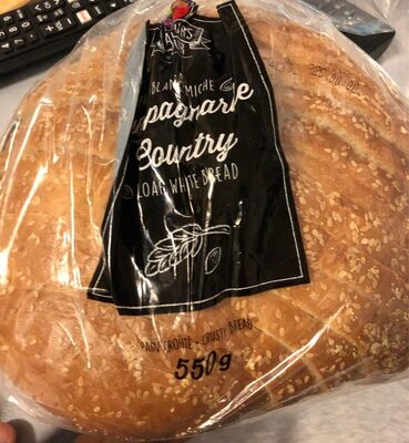 Pain blanc miche - Product - fr