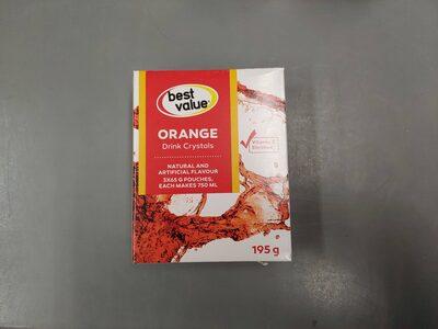 BV Orange Drink Crystals - Produit