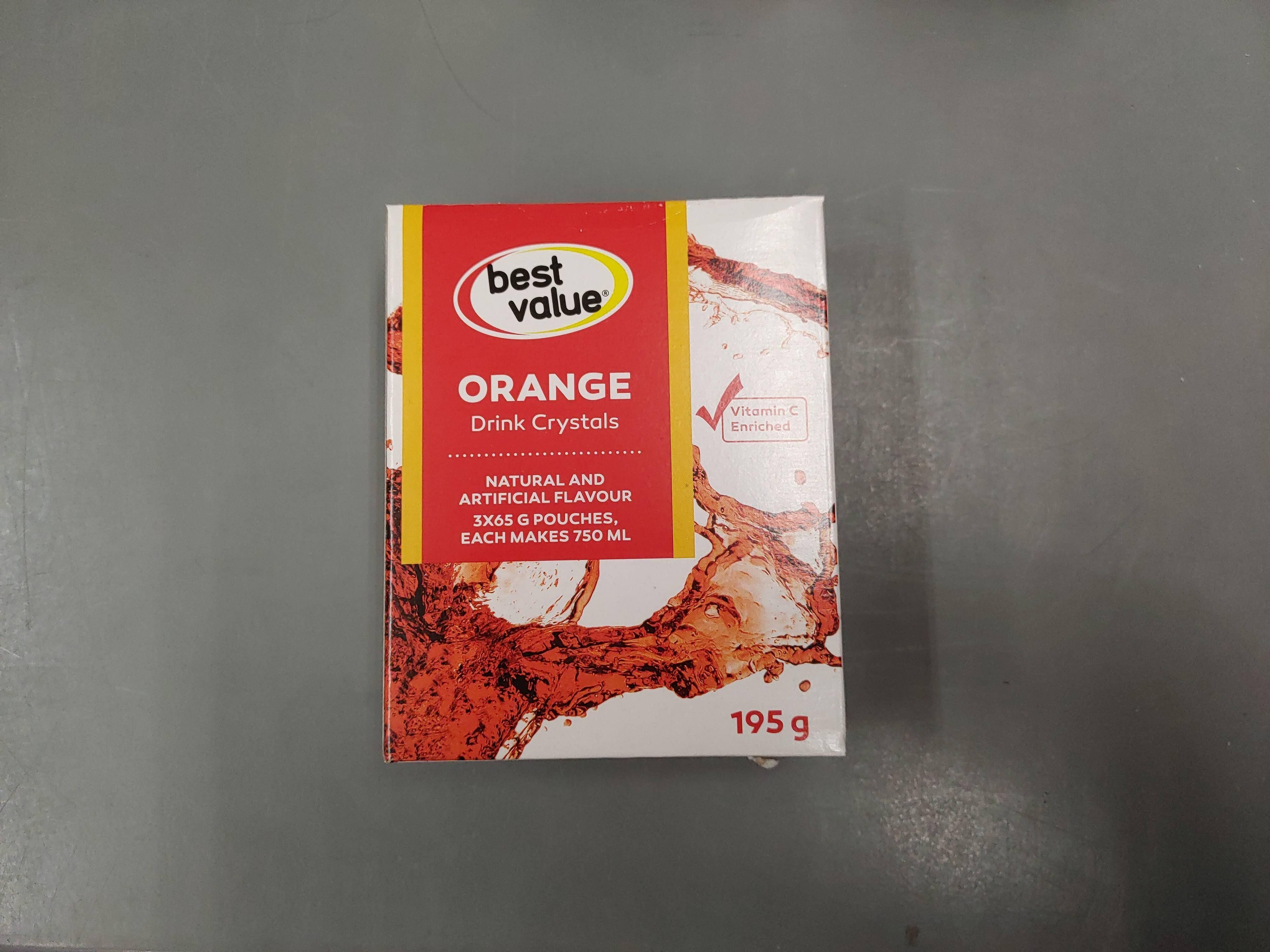 BV Orange Drink Crystals - Produit - en