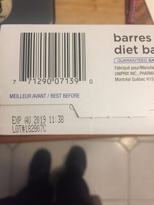 diet bars - Product