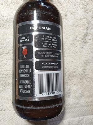 Raftman 5,5% (18+) - Instruction de recyclage et/ou informations d'emballage - fr