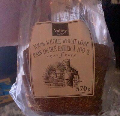 pain de blé entier à 100% - Produit - fr