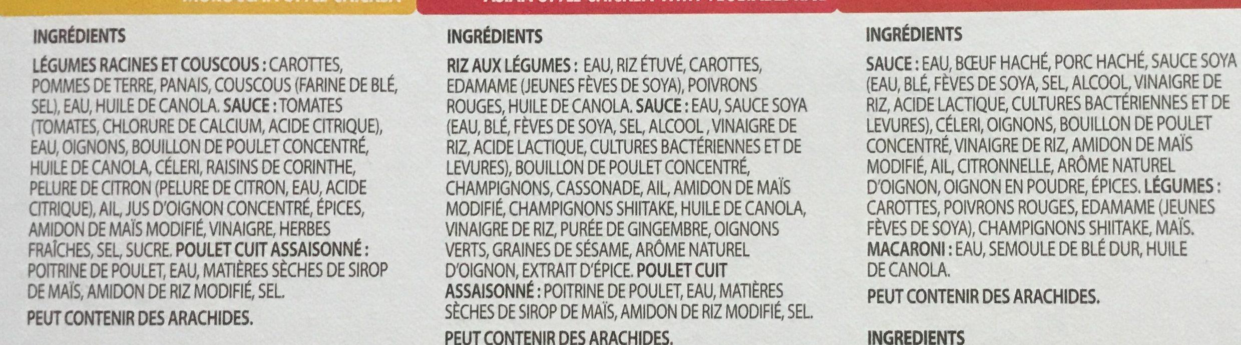 Mon coffret santé Kilo solution - Ingredients - fr