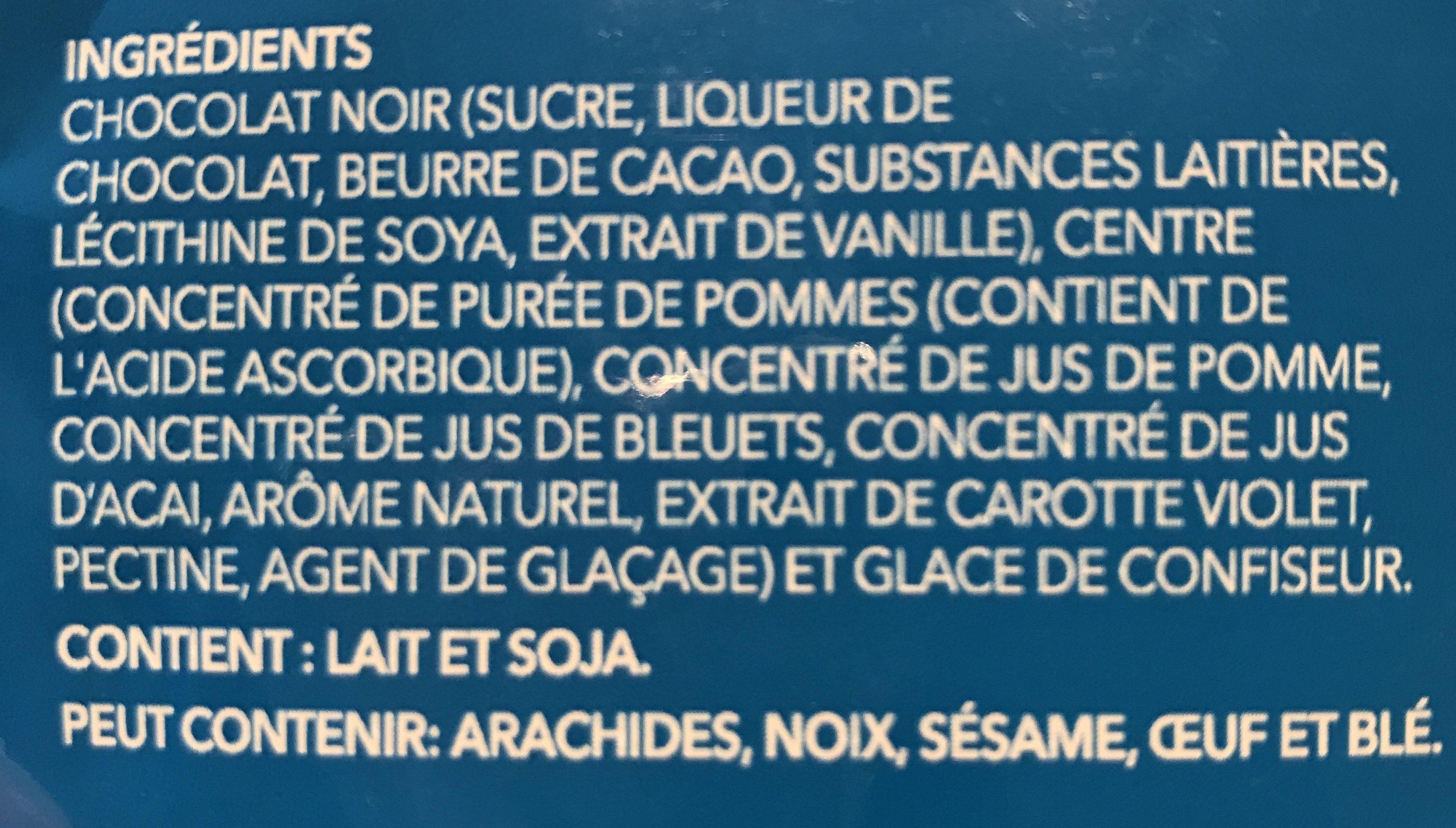 Acai & blueberry - Ingrédients
