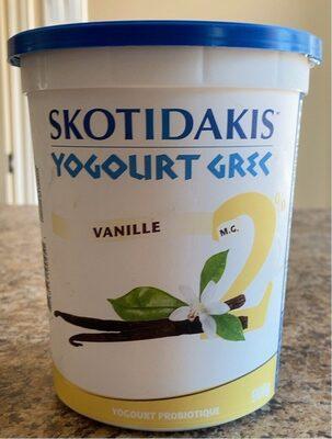 Yogourt grec vanille - Product - fr
