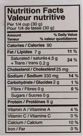 Crumbled Feta - Voedingswaarden - fr
