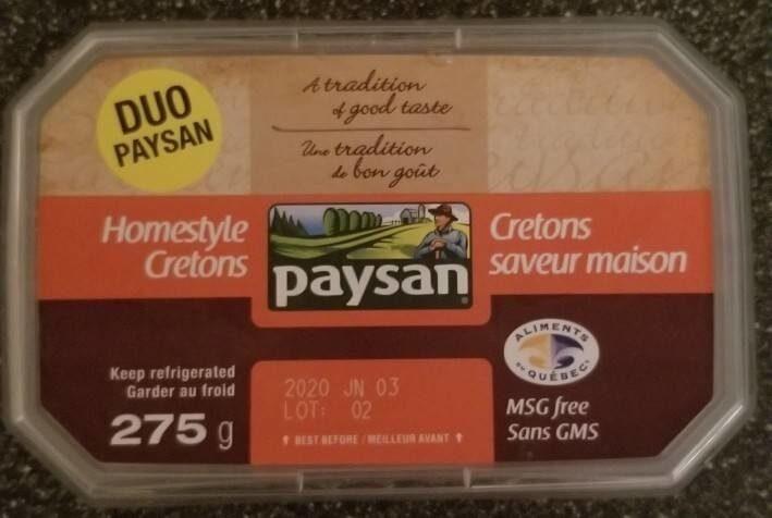 Cretons saveur maison - Product - fr