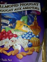 Assorted Almond Nougat Soft - Product