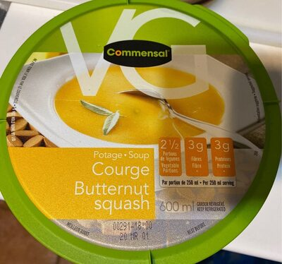 Potage courge - Product