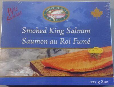 Smoked King Salmon - Product - es