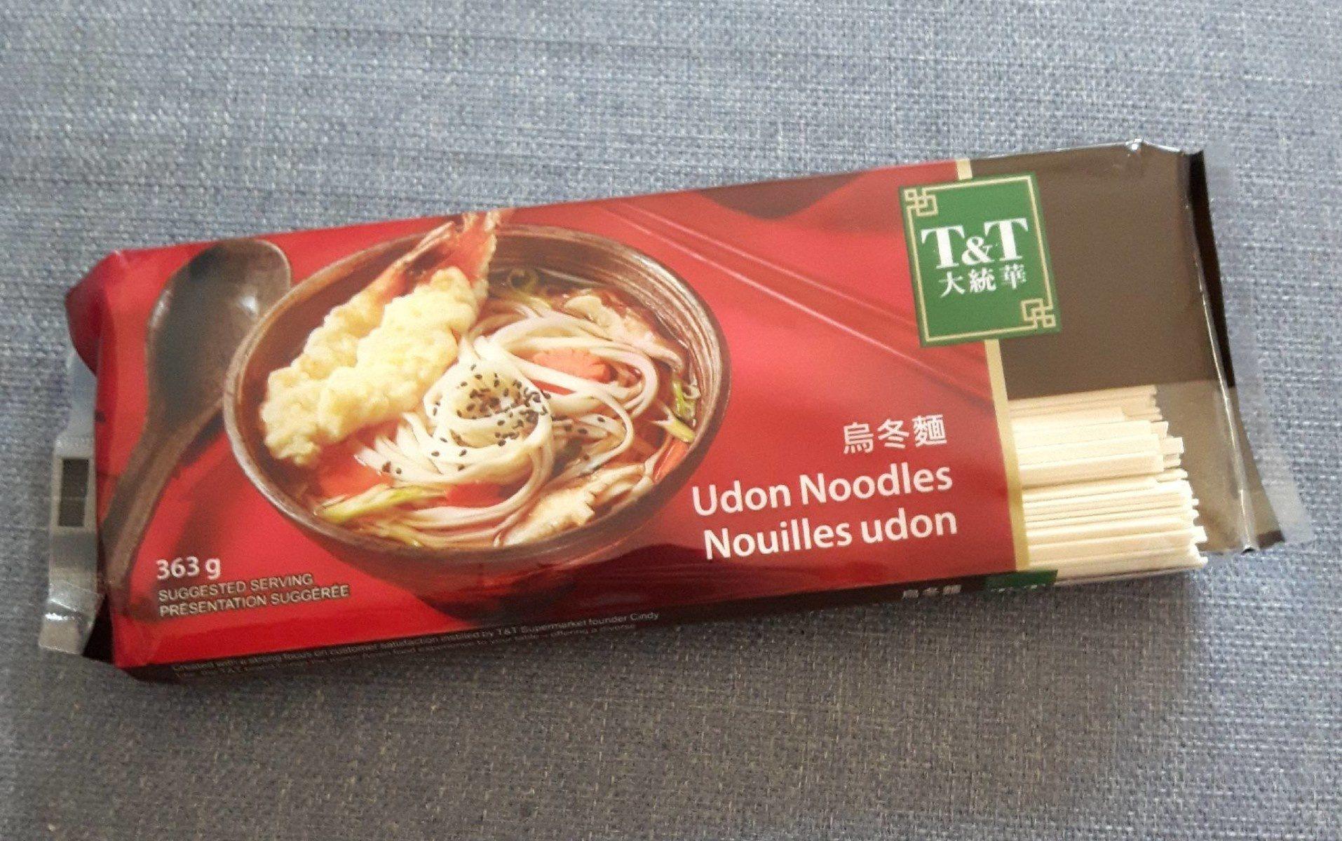 Nouilles udon - Produit