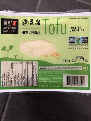 Tofu - Product