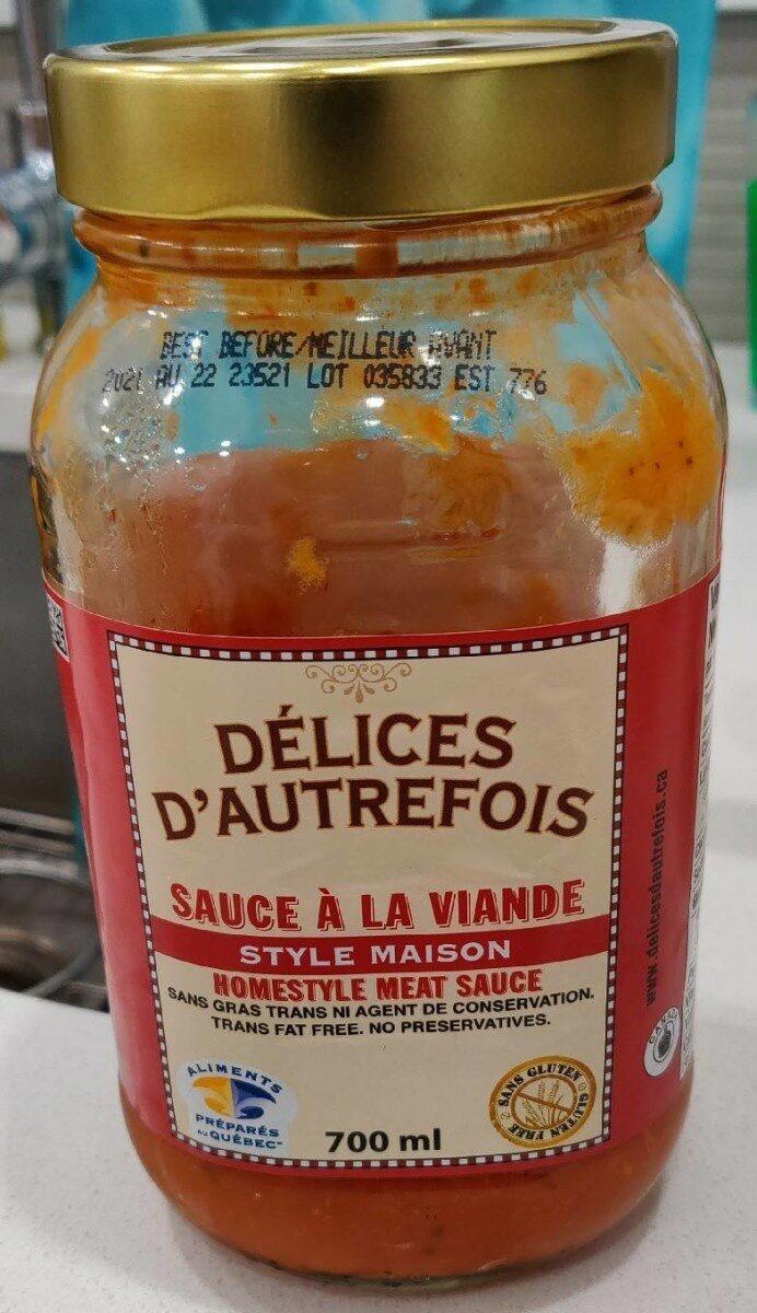 Sauce a la viande - Product - en